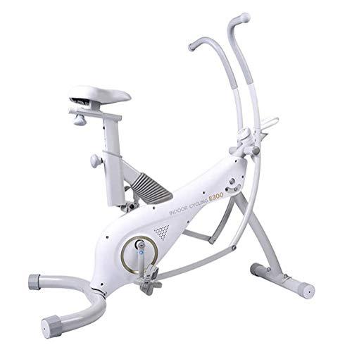 Cubierta ajustable estacionaria Bicicleta estática, silencioso Magnética Bicicleta Estática con pantalla LCD y rueda de desplazamiento, se puede utilizar for el ejercicio de cuerpo completo, for la of
