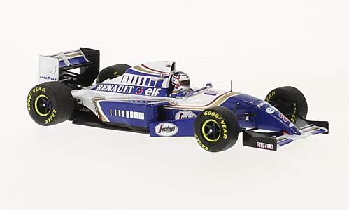 ミニチャンプス 1/43 ウィリアムズ ルノー FW16 #2 ナイジェル・マンセル フランスGP F1復帰 1994