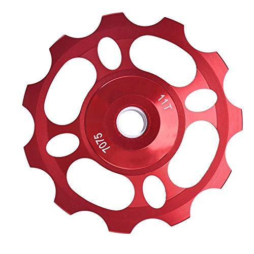 Alomejor 11 T steunwiel schakelsysteem riemschijf rollenketting kettingwielen voor mountainbike fiets reserveonderdelen