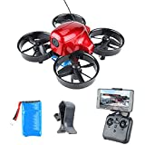 JJDSN Mini Drone with 480P Camera, Drone for Kids, RC Quadcopter WiFi FPV Real-Time Transmission, 360deg; Flip, Gravity Sensor, Trajectory Flight, Mobile App Remote Control