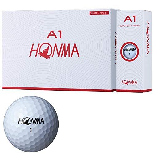 本間ゴルフ ゴルフボール A1 A1 BT1905 ホワイト