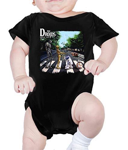 Body de NIÑO Star Wars Dark Vader Yoda Death Star Abbey Road 207 6 Meses