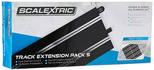 Scalextric Extension Pack 5 1:32 Scale Standard Straights x 8 C8554 Slot Car Track