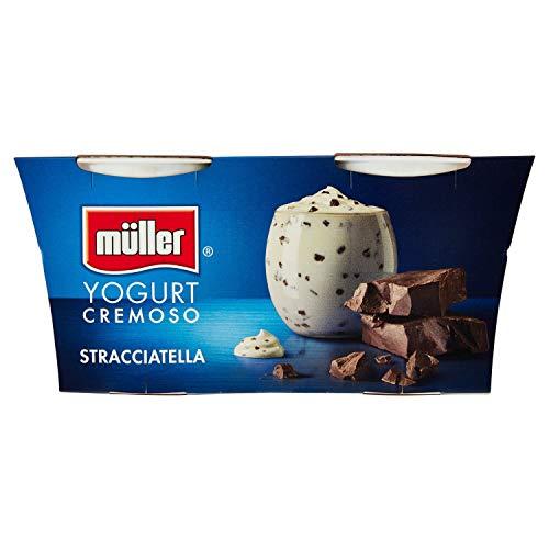 Muller Yogurt Stracciatella, 2 x 125g