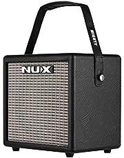 Muslady NUX Mighty 8 BT Amplificador de Guitarra Eléctrica 8 vatios Altavoz Incorporado de 6.5 pulgadas con Entrada de Guitarra Entrada de Micrófono Conexión BT 3 Efectos (MOD/DELAY/REVERB)