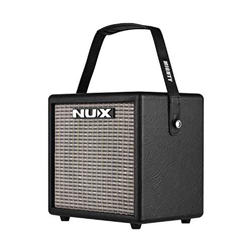 Muslady elektrische gitaarversterker NUX Mighty 8 BT verbinding 3 effecten (MOD/DELAY/REVERB) draagbare 8 Watt met gitaaringang microfooningang ingebouwde 6,5 inch luidspreker versterker kubus vorm