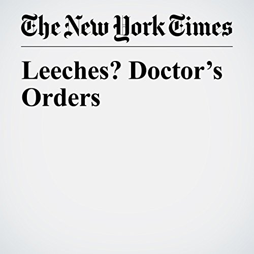 Leeches? Doctor's Orders copertina