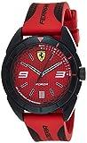 Scuderia Ferrari Reloj Analógico para Hombre de Cuarzo con Correa en Silicona 830517
