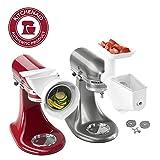 KitchenAid Stand Mixer Attachment Pack 1 with Food Grinder, Fruit & Vegetable Strainer, and Rotor Slicer & Shredder