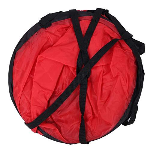 Ufolet Vela de Viento de Canoa, Vela de Viento de Kayak fácil de Usar con diseño Compacto para Canoa de Kayak, Equipo Inflable, Barcos(Red)