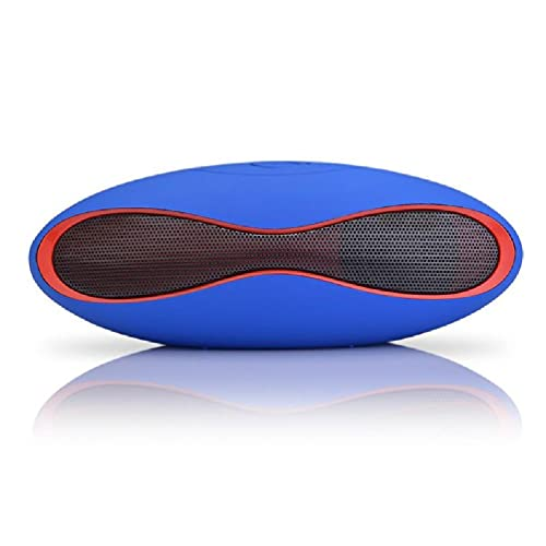 Ydh Mejor Altavoz Bluetooth Inalámbrico Forma de Rugby Mini Super Bass Portátil para Teléfono Inteligente Altavoz de Tableta para TV Coche, Exterior, Deportes, Cocina, Picnic