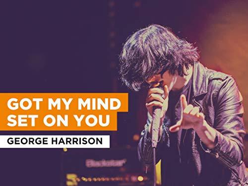 Got My Mind Set On You al estilo de George Harrison