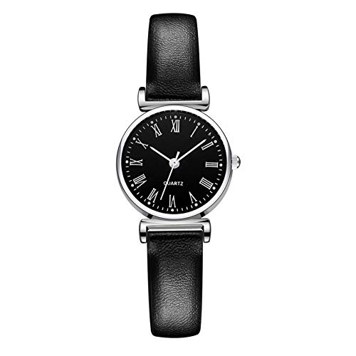 APOKIOG Reloj de Pulsera de Oro Real con Diamantes llenos de Cristal para Dama de Cuarzo de Las Mujeres 1pc