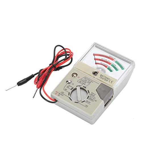 Accesorio de herramienta de reparación Compruebe la batería Mano de obra exquisita Instrumento de prueba de batería Plástico de alta calidad para trabajadores de reparación de relojes para