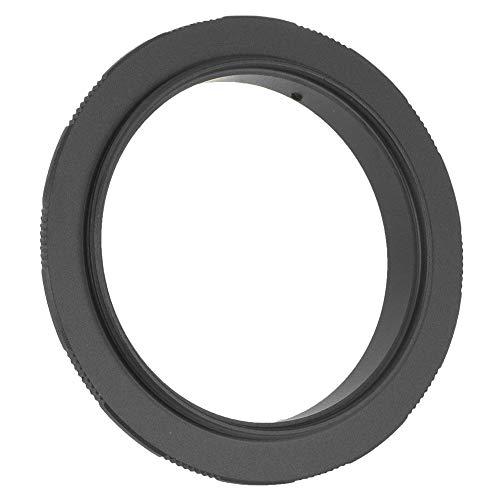Qqmora Anillo adaptador de macro inverso, anillo adaptador de disparo inverso, anillo adaptador duradero para hacer macro disparo para cámara DSLR (58 mm)