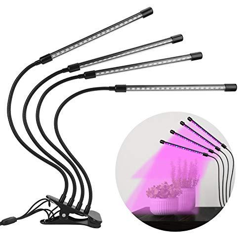 Socobeta LED crece la lámpara, crece la luz USB conector larga vida útil interior crece la lámpara para invernadero para jardín