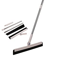 YCUTE Hardwood Floor Squeegee, candidate for best broom for dog hair on hardwood floors