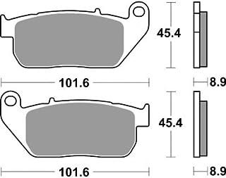 Bremsbeläge hinten BRAKING SM1 Harley D XL 1200 T Sportster Superlow ABS 2014-16