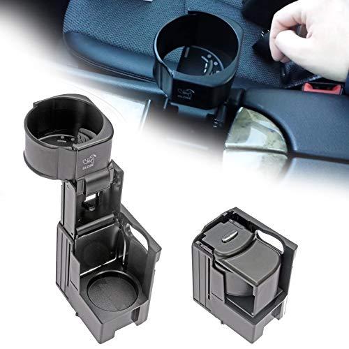 LMYDIDO Soporte para bebidas de repuesto para Mercedes-Benz C219 Clase E W211 S211, soporte para bebidas para coche, consola central, color negro