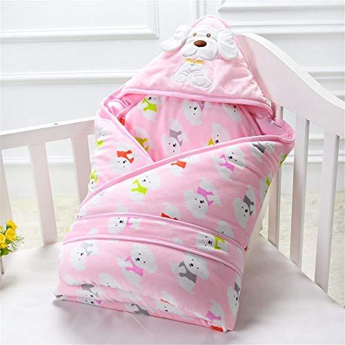 TangFeii Saco de Dormir del Bebé Swaddle Wrap recién Nacido Ropa de Cama Infantil Manta de algodón Saco de Dormir de algodón Abrigo...