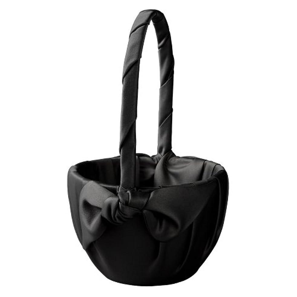 Ivy Lane Design Love Knot Flower Girl Basket, Black
