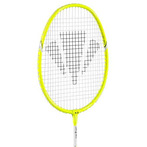 Carlton Mini Blade ISO 4 3 Raquette de badminton Sport Jaune Taille unique