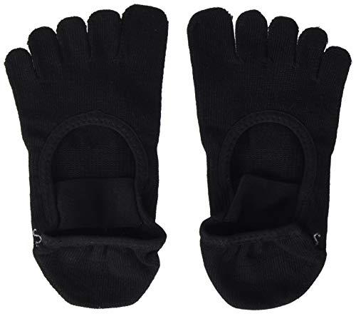 Calcetines ToeSox Full Toe Mia Black, talla S