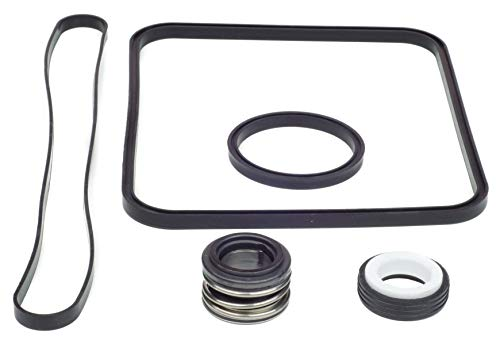 Price comparison product image KitKing - Super Pump Seal Replacement for Hayward Go Kit 3. All 3 Gaskets & Shaft Seal. Fits All SP1600,  SP2600 in Regular,  X,  VSP Models. SPX1600TRA SP1600Z2 PS-201 SPX1600R SPX1600S SPX1600T Pool