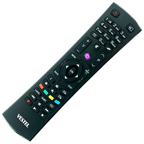 Ersatz Fernbedienung passend für Telefunken 10102191 D43F278N3CW | 10102289 D32F289R3C - afstandsbediening, télécommande, Kumanda, Plug & Play