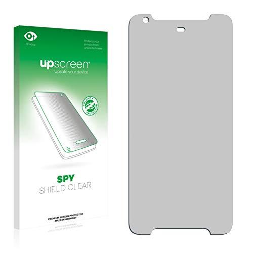 upscreen Anti-Spy Blickschutzfolie kompatibel mit HTC Desire 628 Privacy Screen Sichtschutz Bildschirmschutz-Folie