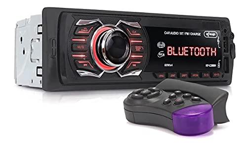 Som Radio Automotivo Bluetooth Potente 240w Controle Volante