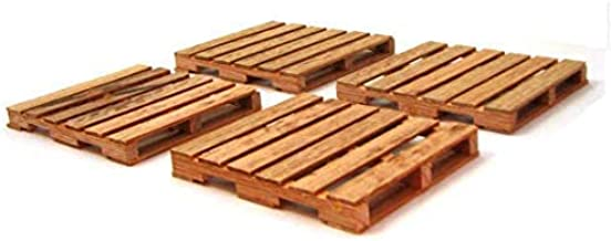 Pallet Coaster Gift Set of 4 Handmade from Oak Woods 3.5 x 4 Inch