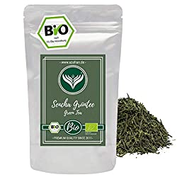Azafran Green Tea - Organic Sencha Green Tea - Original Uchiyama from Japan 250g