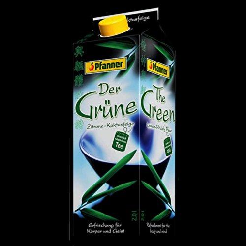 Pfanner Grüner Tee Zitrone & Kaktusfeige 2,0l 6 Päckchen