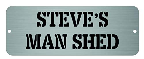 Maggie-mais Personalised Man Shed Sign/Plaque