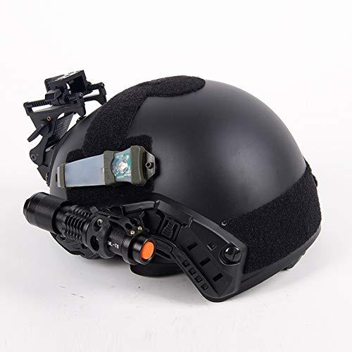 MAKE FINE Fast Standard Taktischer Helm MH Taktischer Helm CS Schießspiel Outdoor Dschungel Offroad Ausrüstung Schutzhelm,Beige