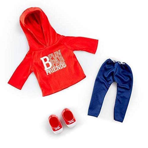 B Friends Addo Play Sport Wear Outfit – Kleidung für alle 45cm Puppen