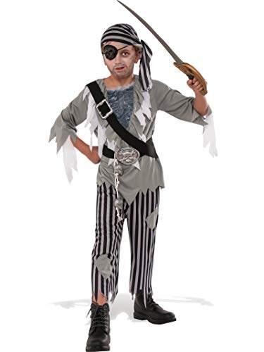 Rubie's Child's Ghostly Boy Pirate Costume, Medium, Multicolor