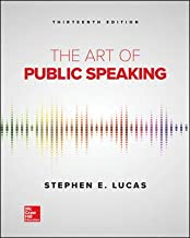 The Art of Public Speaking, 13th Edition