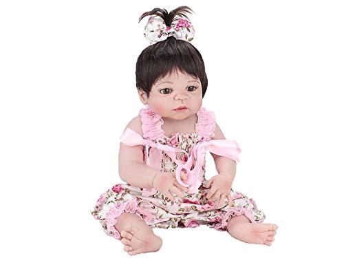 BEBE REBORN LAURA BABY PINK FLOWER