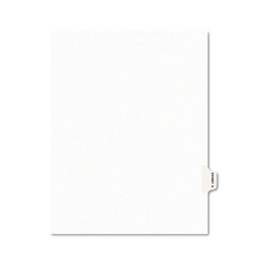 AVE01382-11 x 8 1 2 - Avery Index Exhibit Alpha Divider 2021new shipping free L Long Beach Mall Legal