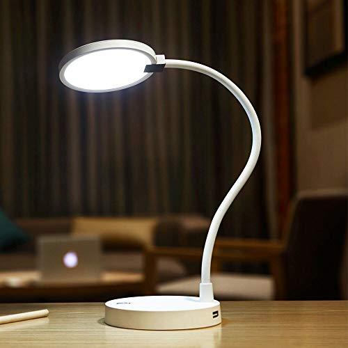 Burhetten Lámpara de cuello de cisne Smart LED recargable lámpara de mesa fuente de alimentación Nail lámpara de escritorio