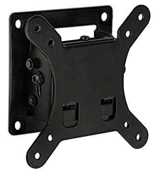 Mount-It! Small TV Monitor Wall Mount | Quick Release | Fits 13-32 Inch LCD/LED Screen | Max 33 Lbs | Slim Tilting Design | Easy Installation