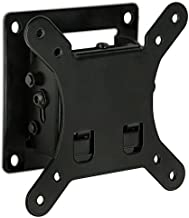 Mount-It! Small TV Monitor Wall Mount   Quick Release   Fits 13-32 Inch LCD/LED Screen   Max 33 Lbs   Slim Tilting Design   Easy Installation