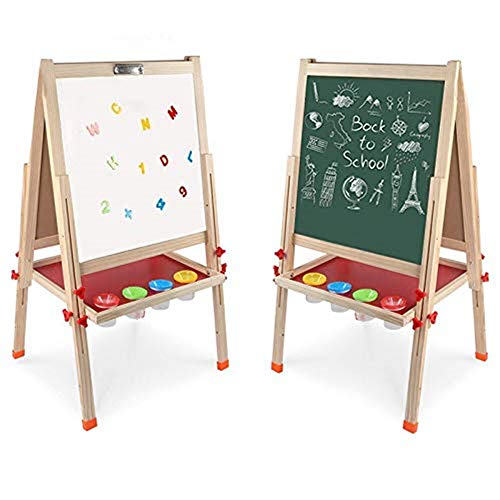 Arkmiido Kids Easel Double-Sided...