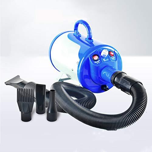 B pet hair dryer Séchoir à Cheveux pour Chien à Haute Puissance pour Animaux de Compagnie Soufflant spécialement pour Le séchage par soufflage Artifact - Bleu argenté