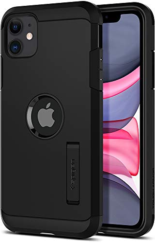 Spigen Funda Tough Armor Compatible con iPhone 11 - Negro