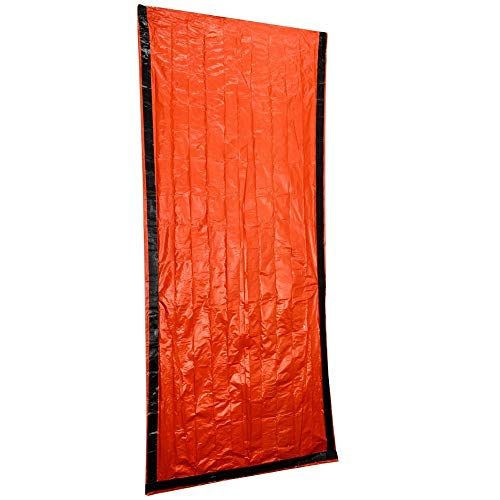 hhxiao Outdoor slaapzak 200cmx90cm Draagbare Emergency Survival Bag Outdoor Wandelen Lichtgewicht Winter Herfst Waterdichte Deken Reizen Slaapzak
