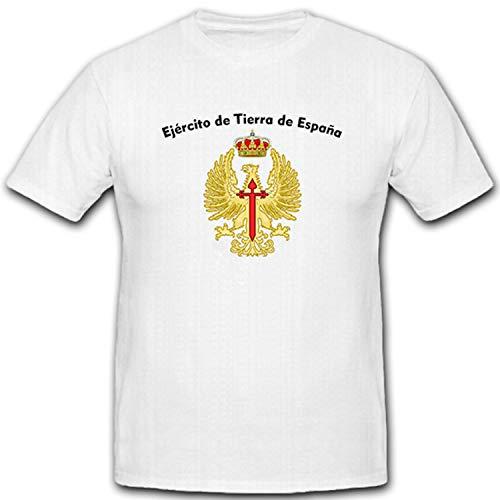 Camiseta del ejército español Ejército de Tierra de España #5223 Blanco L