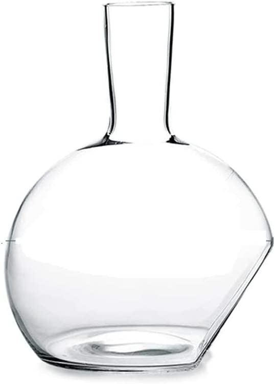 2.5L Wine Decanter Large discharge sale 100% Lead-Free Glass Blown Win Crystal Superior Hand